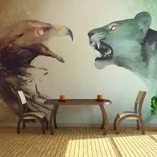 Fotobehang Dieren In Gevecht Karo Art Vof