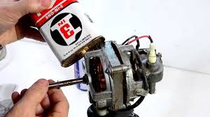 Fixing a seized oscillating fan motor - YouTube