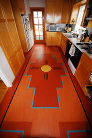 Linoleum Floor Kitchen Flooring Ideas Modern Marmoleum Linoleum Kitchen Floor For Smal