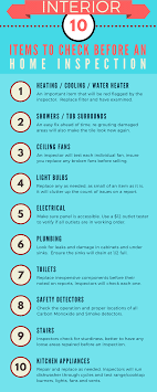 list of home inspection items home inspection preparing before selling your home