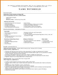 2 Best Marketing Resume Format Cashier Resumes