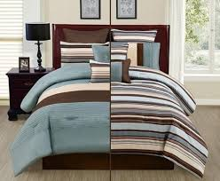 perfect blue and brown comforter sets king