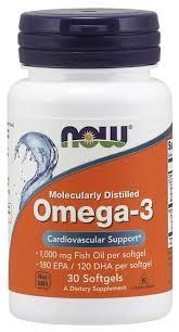 Omega 3 Molecularly Distilled Softgels