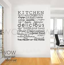single word wall decals vinyl sticker art kitchen words inspirational for the cool vinyl writing