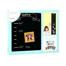 decal growth chart wall