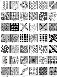 Official Zentangle Patterns Interesting Design