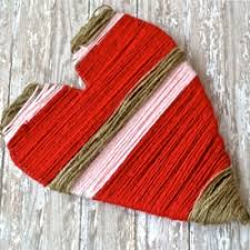 Image result for yarn-wrapped hearts