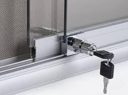 sliding glass door lock devices
