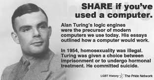 alan turing s th celebratory images from across the web courtesy of facebook george takei