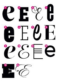 Custom Letter E