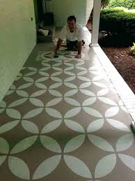 painting outdoor concrete patio how