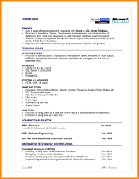 Dba Resumes Oracle Dba Latest Resume Dba Sample Resume Oracle Dba