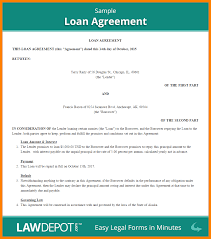 15+ Personal Loan Agreement | Zasvobodu