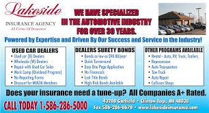 michigan used car dealer insurance dealer surety bond lakeside
