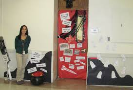 high school classroom door. Door Decoration Contest Winners! High School Classroom A