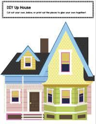 Pixars Up House Themed Printable