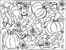 Small Picture Coloring Pages Of Pumpkin Leaves Coloring Coloring Pages