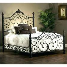king iron bed frames haven king size scroll design iron bed white cast iron king size king iron bed frames