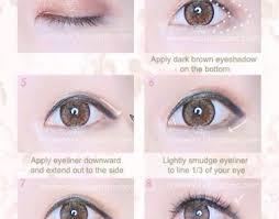 innovation fashion ideas for designer with kawaii makeup with simple gyaru eye makeup tutorial