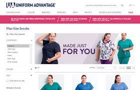 scrub size uniform advantage announces new exclusive plus size scrub collection