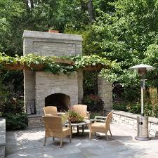 backyard patio ideas stone fresh outdoor fireplace corner google search house