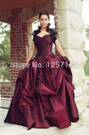 wine red wedding. 2015 new Wine red wedding dress Steampunk Victorian Western Desert