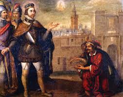 Resultado de imagen de conquista de sevilla por fernando el santo