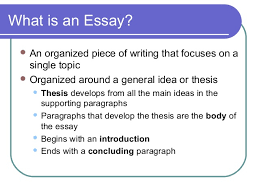 elements of an effective essay elements of writing an effective essay 2
