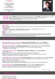 Exemple De Bon Cv Modele De Curriculum Gratuit Jaoloron