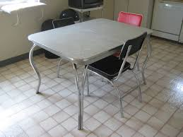 Retro Formica Kitchen Table Formica Kitchen Table Vintage Formica Table For Kitchen And