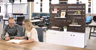 pallet office. How To Complement Open Office Environments With Pallet Display Furniture Pallet Office M