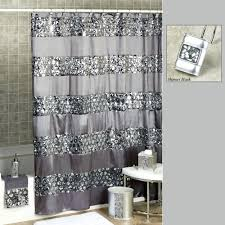gray shower curtain bathroom decoration yellow and smlf marvelous