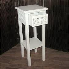 phone table. cottage house style telephone table | white, 25.5x10x10\ phone table