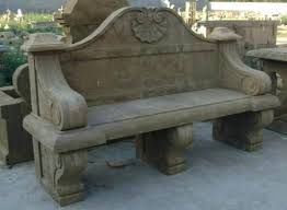 Stone Garden Furniture Sydney Outdoor Stone Benches With Backs Stone Benches With Backs