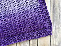 Crochet Baby Blanket Patterns For Beginners Custom 48 Easy Crochet Baby Blanket Patterns FaveCrafts