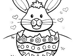 Simple Easter Coloring Pages Cute Coloring Pages New Free For
