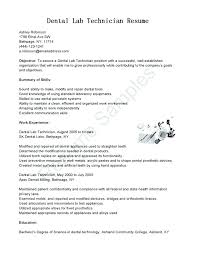 Laboratory Technician Resume Summary Medical Sample Research Interesting Lab Technician Resume