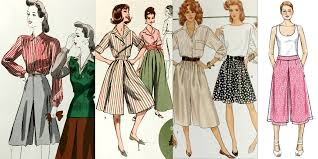 Culottes Pattern Delectable The Inescapable Unavoidable CulottePast And Present Patterns