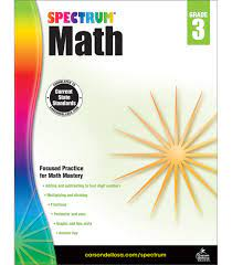 Our tuition rate is lower than any other program in the area. Spectrum Third Grade Math Workbook Multiplication Division Fractions Mathematics With Examples Tests Answer Key For Homeschool Or Classroom 160 Pgs Spectrum 0044222238544 Amazon Com Books