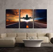 jet plane wall art