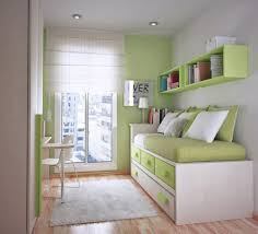 Small Bedroom Girls White Wall Paint For Girls Small Bedroom Design Brown Wooden Bed