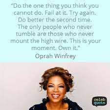 Oprah Winfrey Quotes Unique Oprah Winfrey Quote About Success Improvement Challenge Oprah