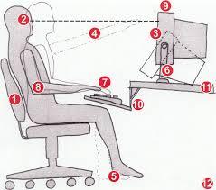 ergonomic computer workstation. Interesting Workstation 12 Tips For An Ergonomic Computer Workstation Intended H