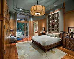 luxury resort style bedroom bedroom asian with floor-to-ceiling windows  square decorative pillow covers