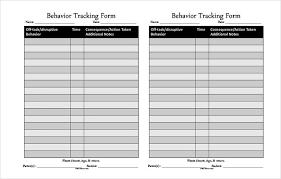 Off Task Behavior Chart 10 Behavior Tracking Templates Free Sample Example