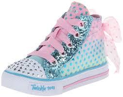 sketchers kids shoes. skechers kids shuffles pixie bunch lighted sneaker (toddler/little kid) high top sketchers shoes h