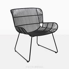 relaxing furniture. Nairobi Woven Relaxing Chair Black Lounge Angle View Furniture
