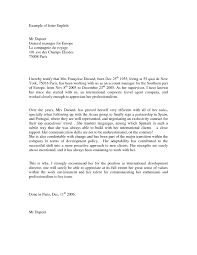 Formal Letter English English Formal Letter Format Example Inspirationa English Formal