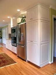 kitchenaid built in refrigerator built in refrigerator get the look of a built in fridge for kitchenaid built in refrigerator
