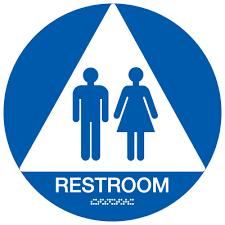 Unisex Restroom California ADA Restroom Signs For Schools Seton Extraordinary Unisex Bathroom Signs